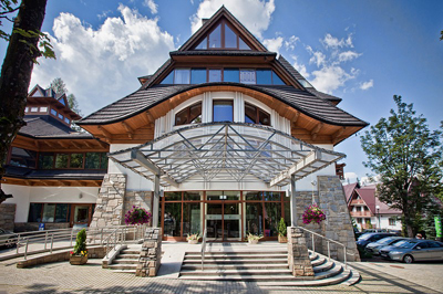 Crocus Business Hotel In Zakopane Is A Modern Luxury Located The Center Of And Yet Immediate Vicinity Tatra National